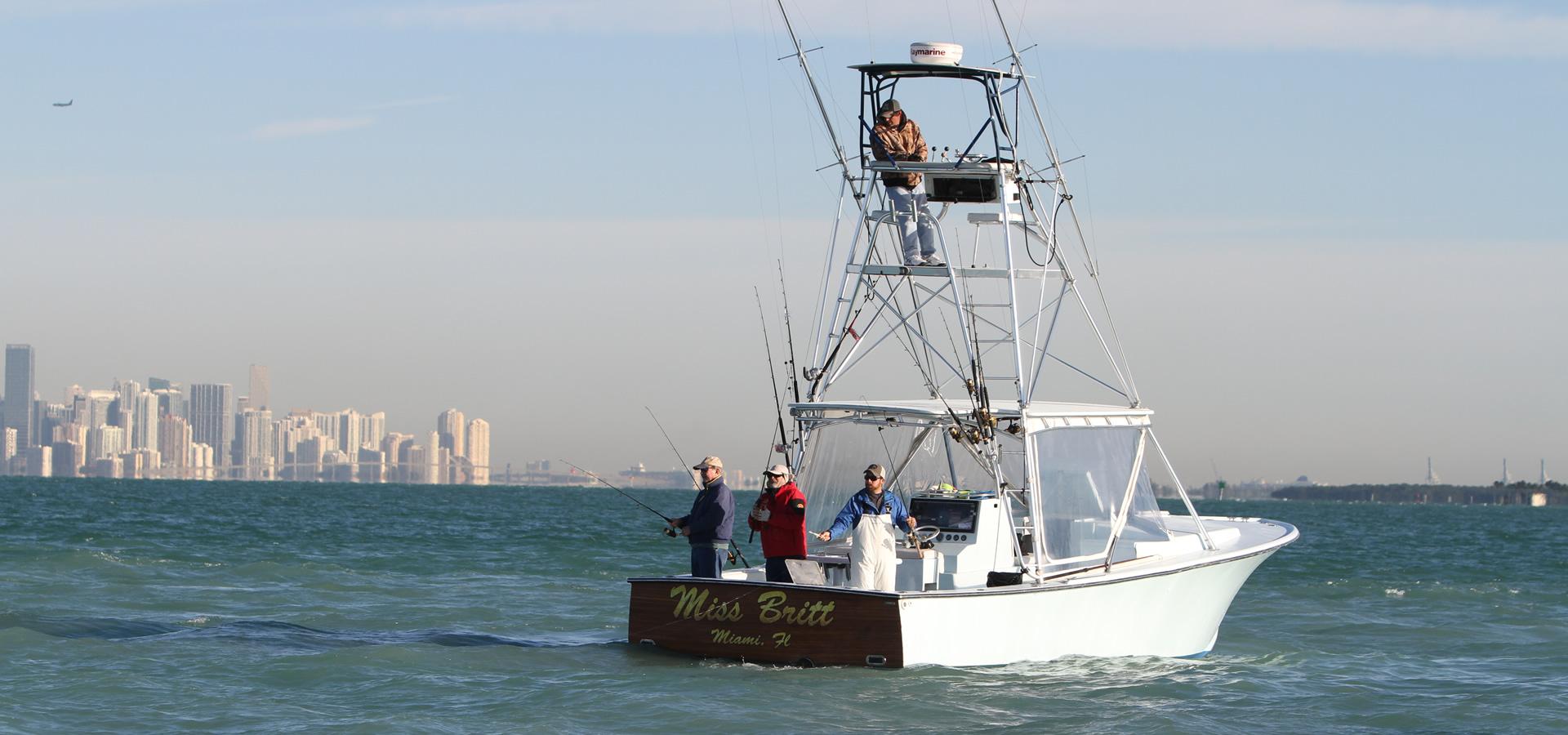 Miss Britt I - 34' Boat